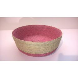Corb. ronde Rose d25 Ray basse*