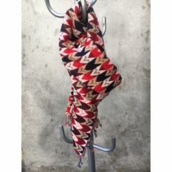 Echarpe laine de Yack ROUGE