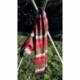 Echarpe Rouge et  verte laine  de Yack