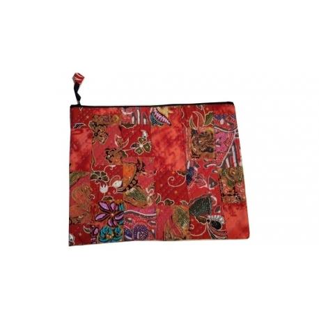 Pochette elegante Tissus Batik