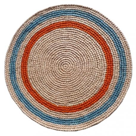 Set de table Raphia crochet fait main