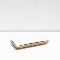 Natural rectangular tray S