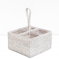 White condiment holder M