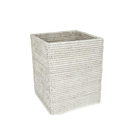 Corbeille à papier carrée