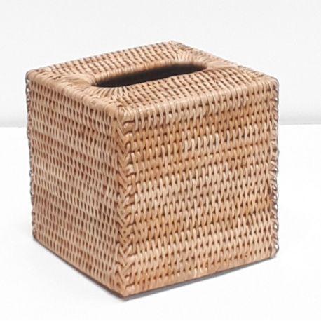 Boîte à kleenex carrée M naturel