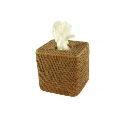 Boite Kleenex  Rotin