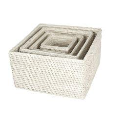Corbeilles carrées (4),