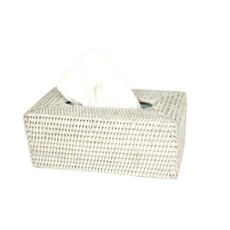 couvre Boîte Kleenex blanc,