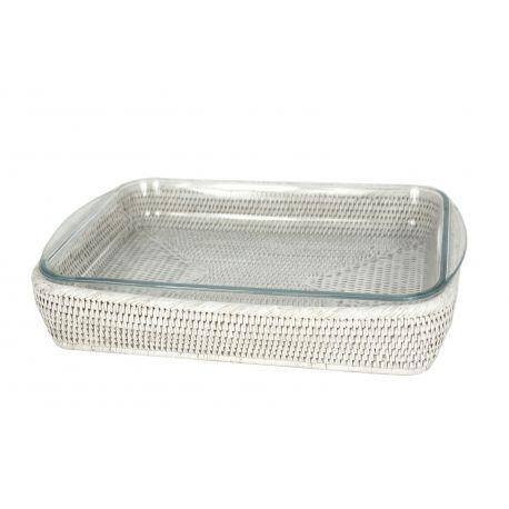 Plat rectangulaire lasagne pyrex