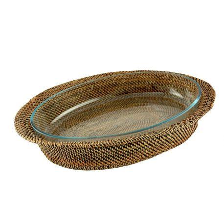Plat ovale pyrex,