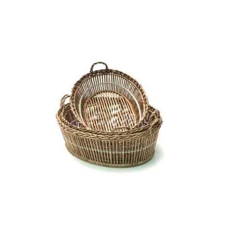 Oval Lavandiere Tina Baskets ( Set/3)